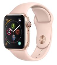Apple Watch 4 GPS 40mm Gold  Aluminum Case With Pink Sand Sport Band